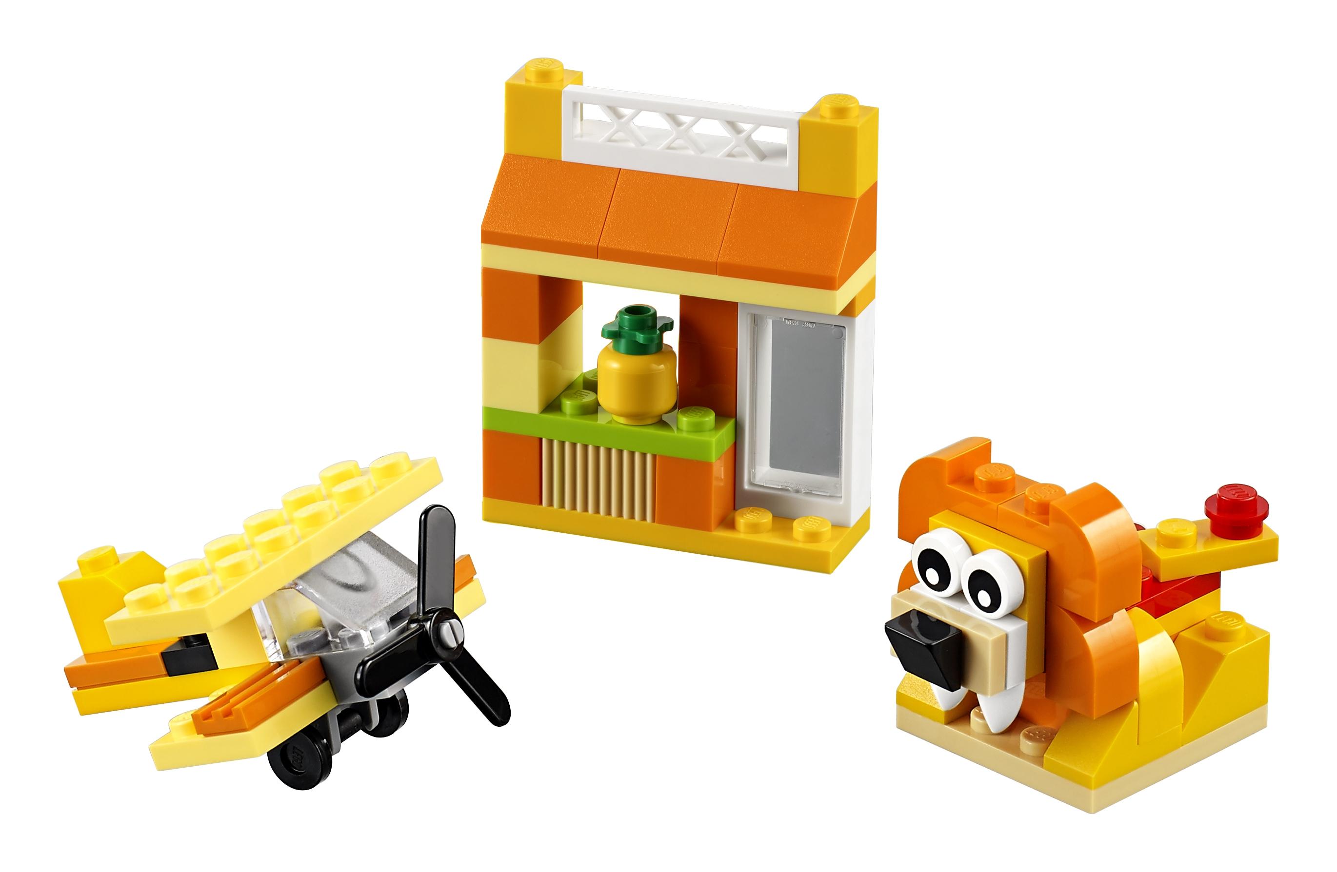 Конструктор LEGO Classic 10709 Оранжевый набор для творчества classic 10692 набор для творчества