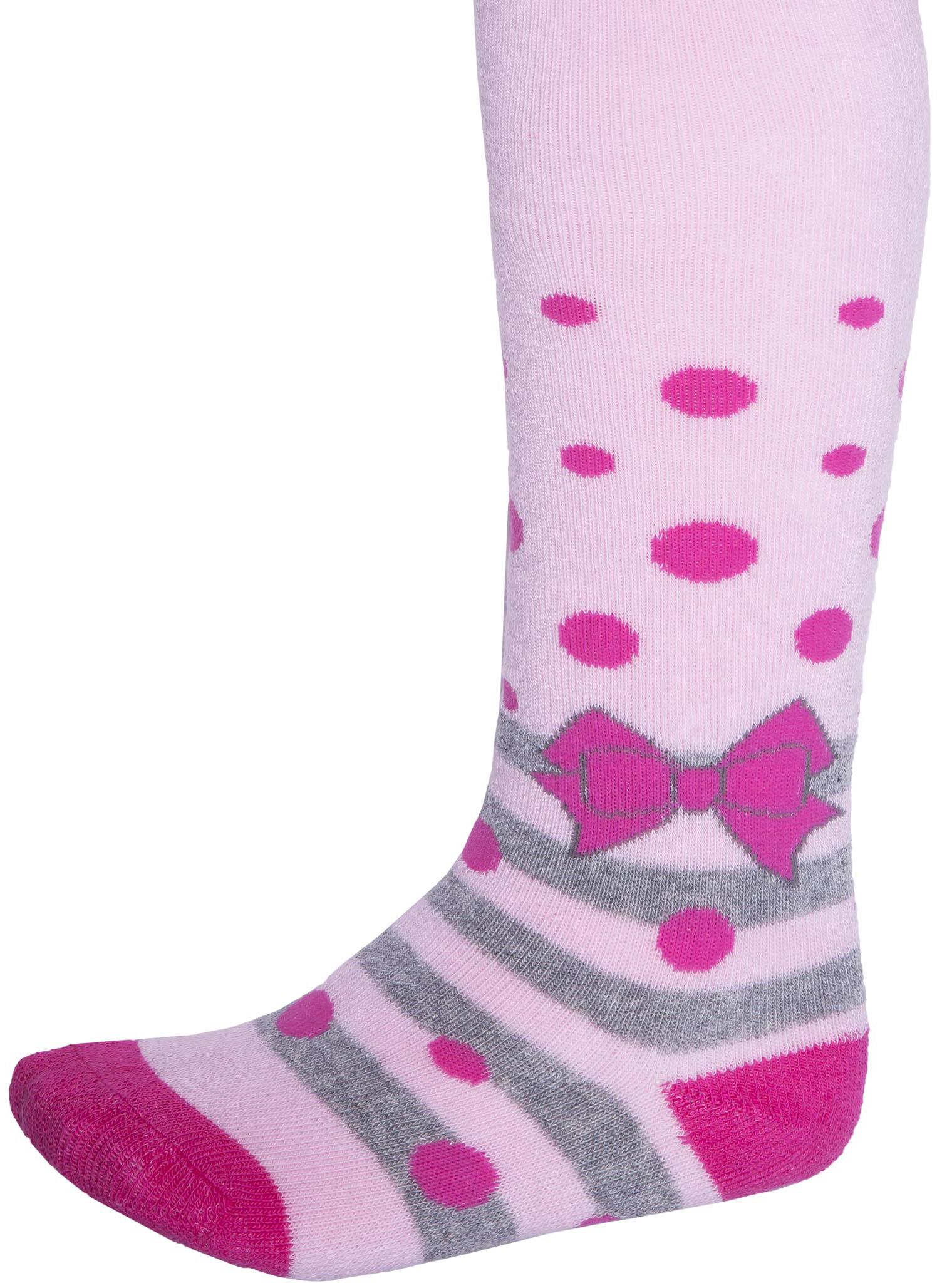 Колготки Barkito Бантик розовые колготки кидис колготки х б 8 марта розовые