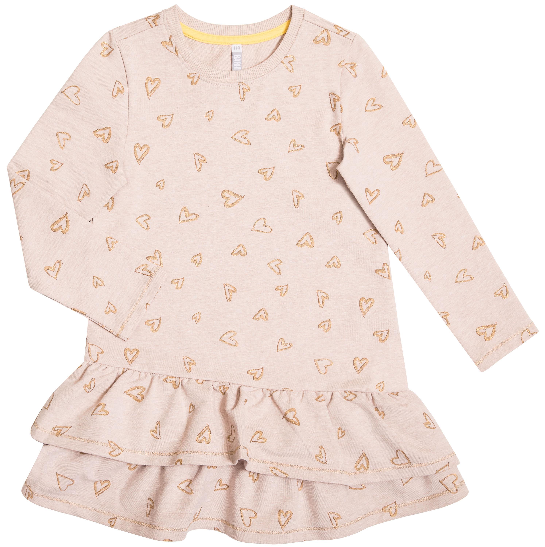 Платье детское Barkito Золотая весна, бежевое
