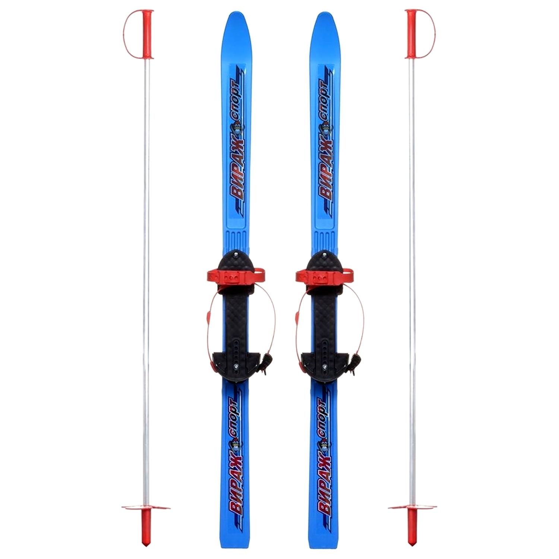 Купить Сноуборды и лыжи, Вираж-Спорт «МПЛ 106.00» синие, Россия, blue