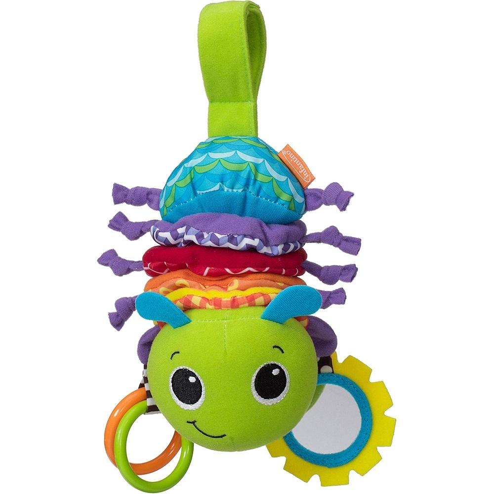 Музыкальная игрушка Infantino Гусеничка 5366 музыкальная игрушка мир детства счастливая гусеничка