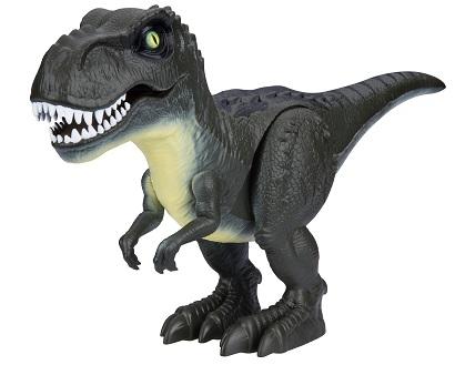 Купить Интерактивные животные, Атакующий тиранозавр Т13693, 1toy, Китай, зелёный