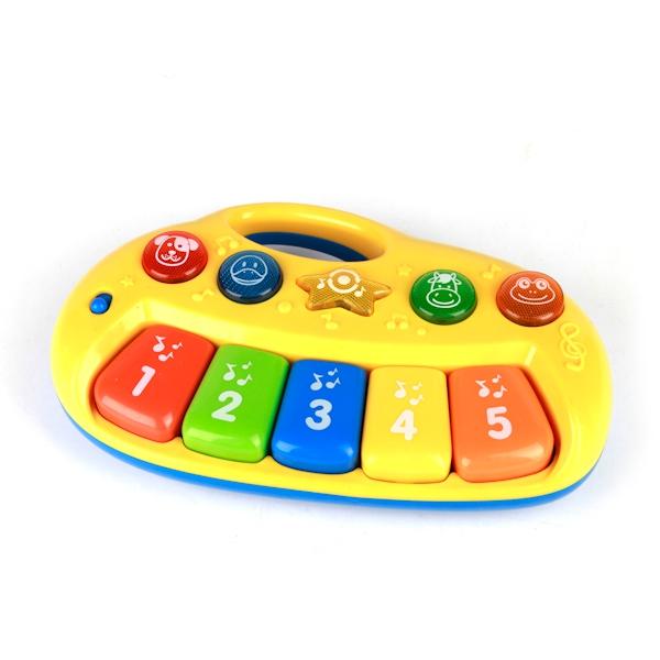 Детские музыкальные инструменты Умка Мое первое пианино playgo развивающая игрушка мое первое пианино цвет желтый
