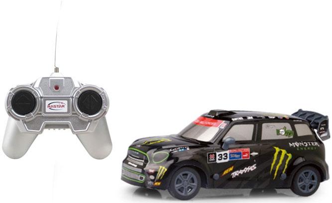 Машинки и мотоциклы Rastar Радиоуправляемая модель гоночного варианта Mini Countryman 1:24 rastar rastar радиоуправляемая машина mini cooper countryman jcw rx масштаб 1 14
