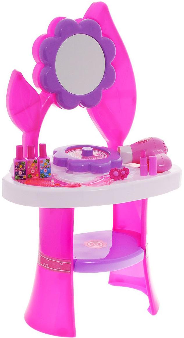 Игровой набор 1toy Туалетный столик. Цветок