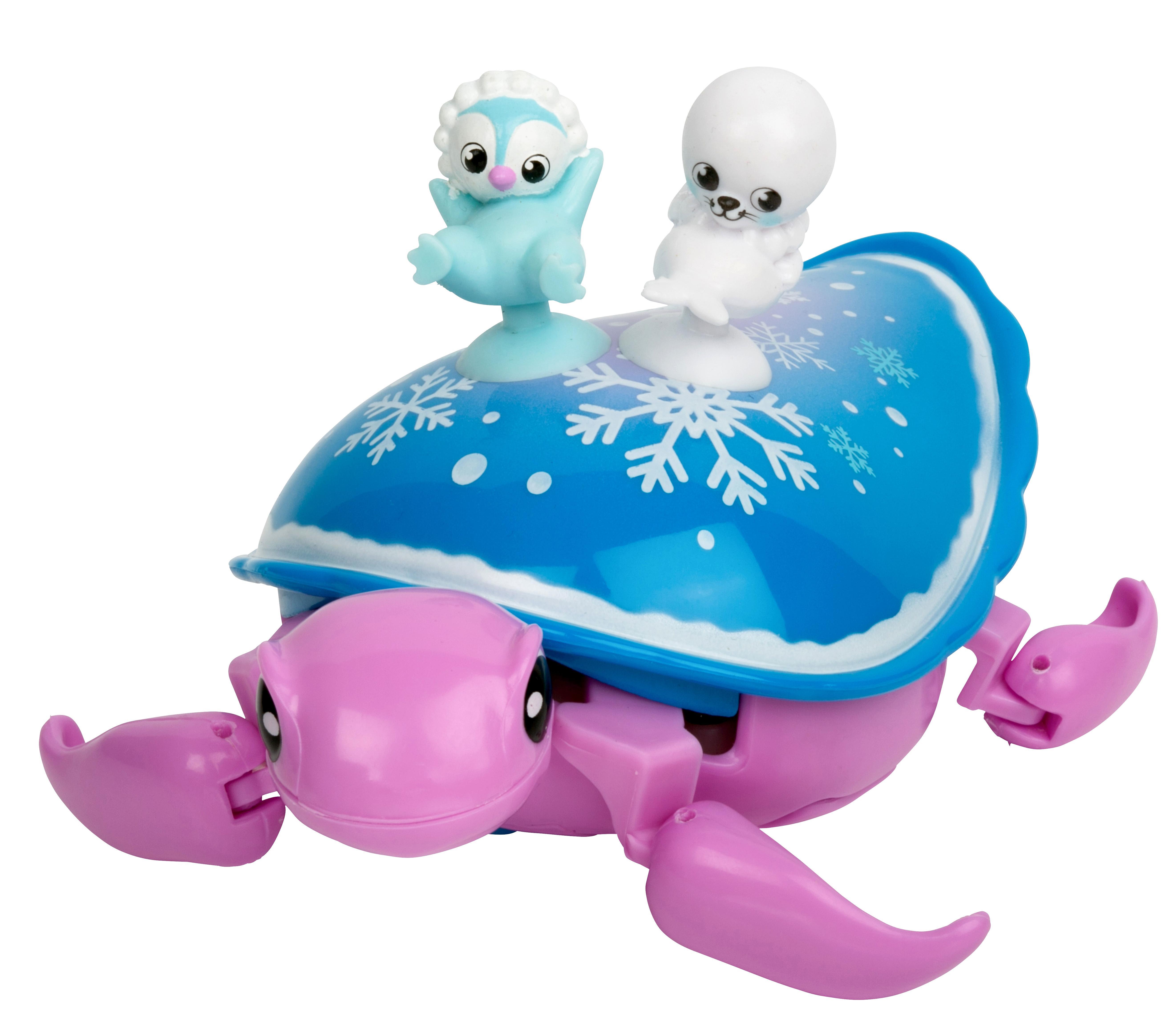 Игровой набор Little Live Pets Черепашка и друзья. Снежный бриз звездана майхен надежда лисапова животные наши лесные друзья я и мой аквариум котенок попугай хомячок щенок черепашка комплект из 8 книг