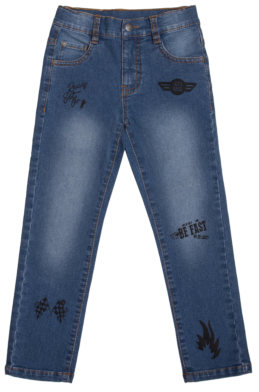 Брюки Barkito для мальчика, синие yu zhaolin джинсы мужская мода дикие мужские мягкие и простые случайные ковбойские брюки yzl517k синие и черные 34