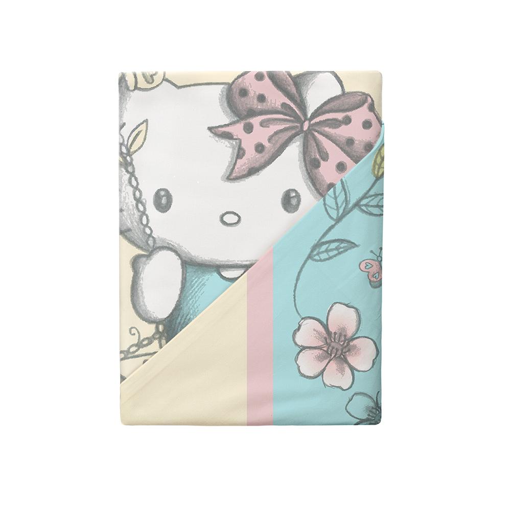 Постельные принадлежности HELLO KITTY Комплект постельного белья Hello Kitty «Spring» полутороспальный наволочка 50х70 см бумажник hello kitty 048