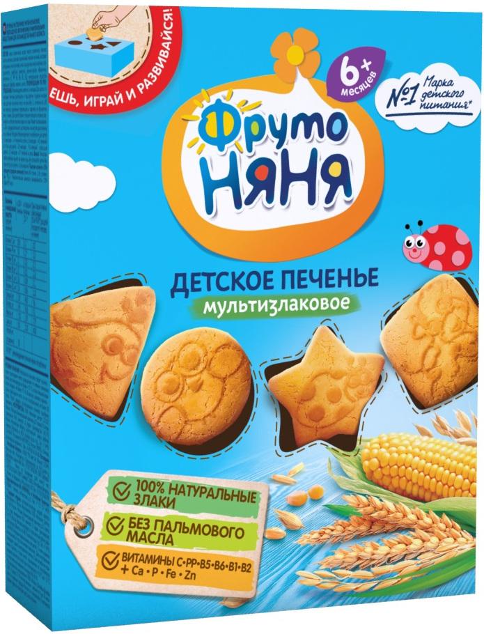 Печенье Фрутоняня мультизлаковое с 6 мес. 150 г