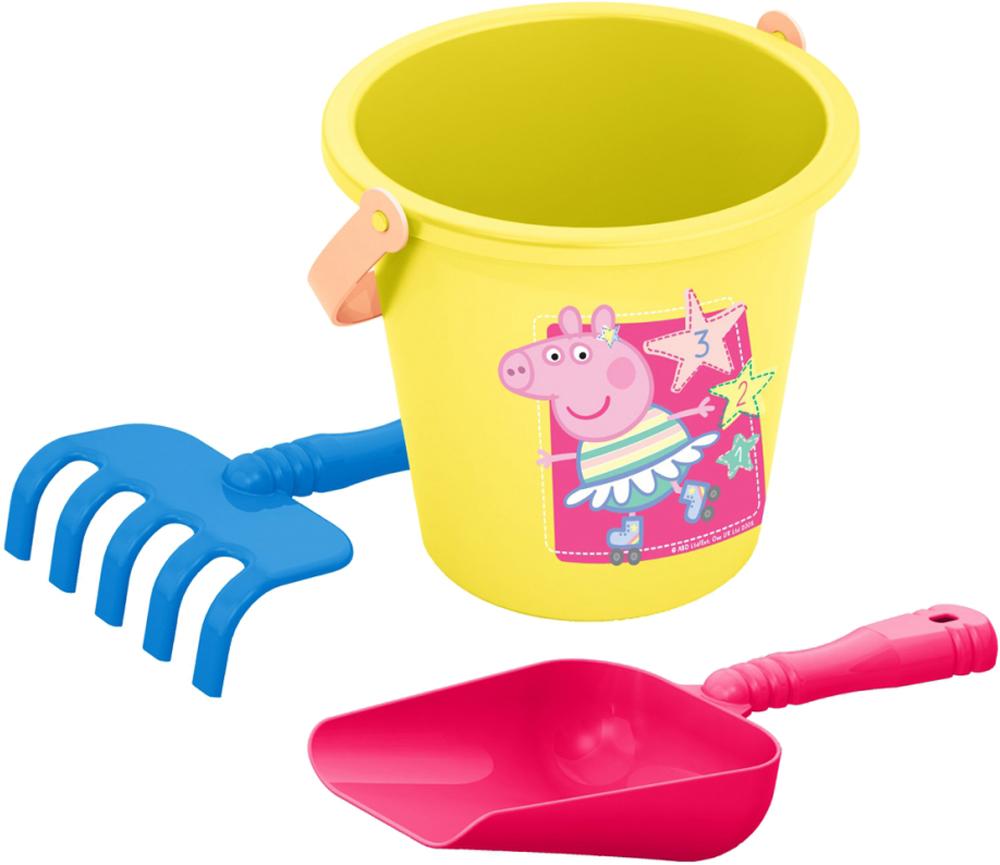 Игрушки для песка Peppa Pig Peppa Pig №1 peppa pig набор толстых восковых карандашей свинка пеппа 8 цветов