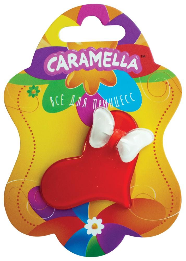 Украшения CARAMELLA Заколка для волос Caramella «Сердечко» красный с белым футболка с полной запечаткой для мальчиков printio тату волк