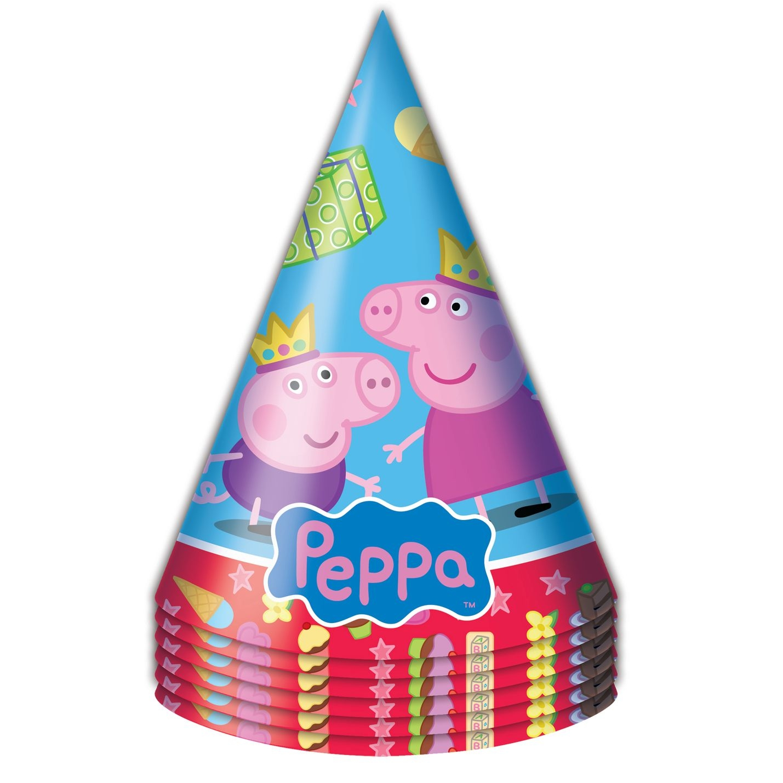 Набор колпачков Peppa Pig Пеппа Принцесса peppa pig пакет подарочный пеппа принцесса 6 шт