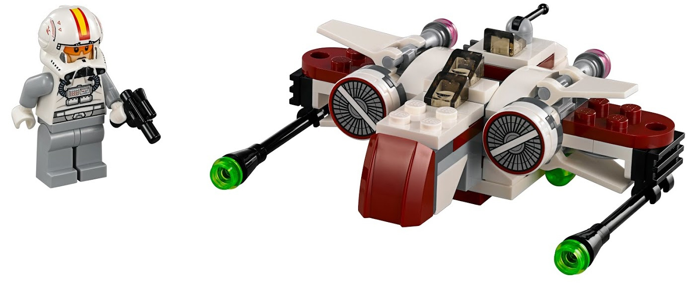 Star Wars LEGO Star Wars 75072 Звёздный истребитель ARC-170 lego star wars 75171 битва на скарифе