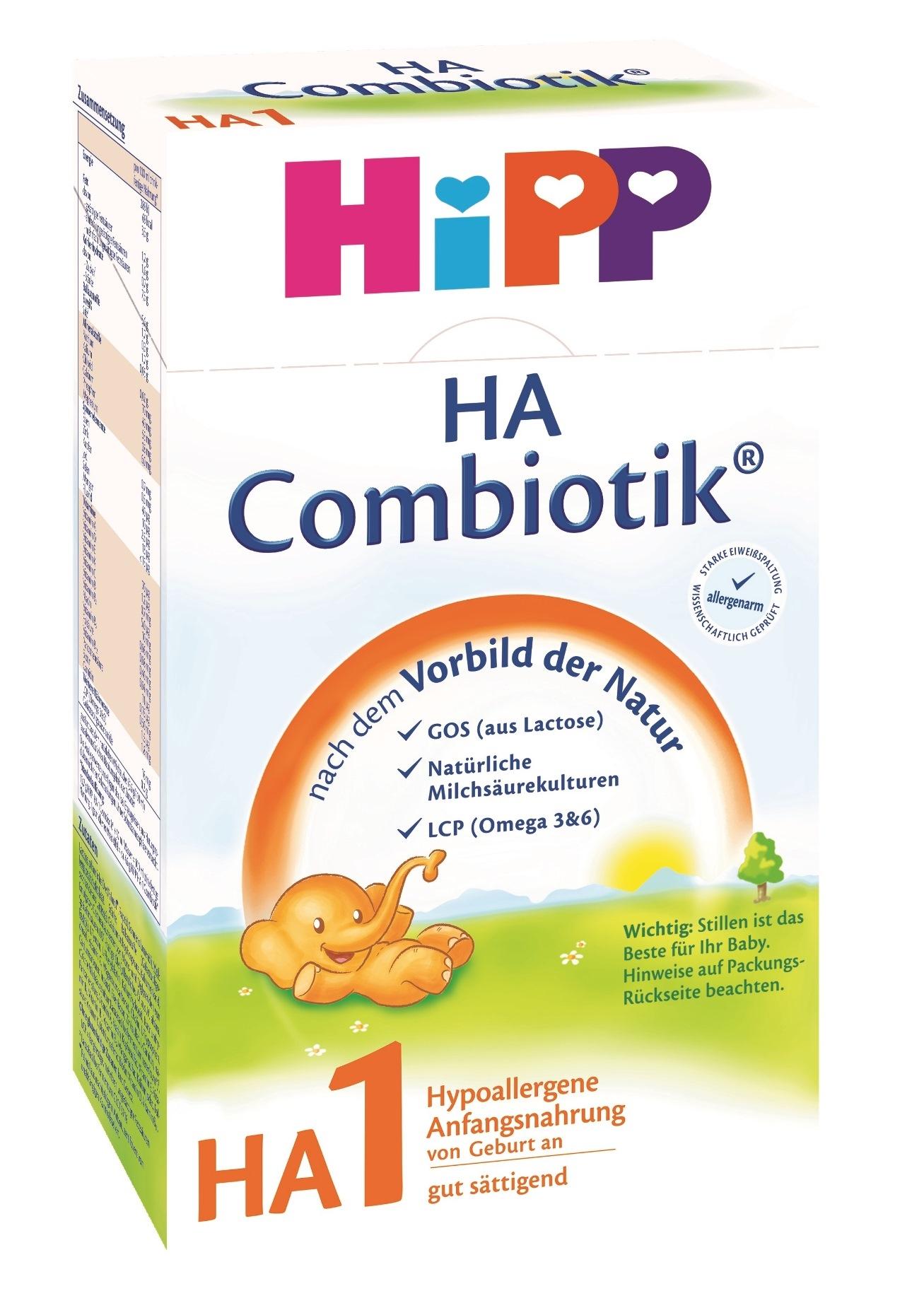 Молочные смеси HIPP Смесь HiPP HA 1 Combiotic (с первых дней) 500 г