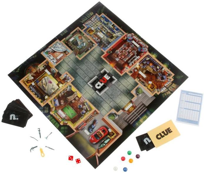 Развивающие и обучающие OTHER GAMES Настольная игра Hasbro «Клуэдо» обновленная развивающие и обучающие other games моя первая игра other games клуэдо