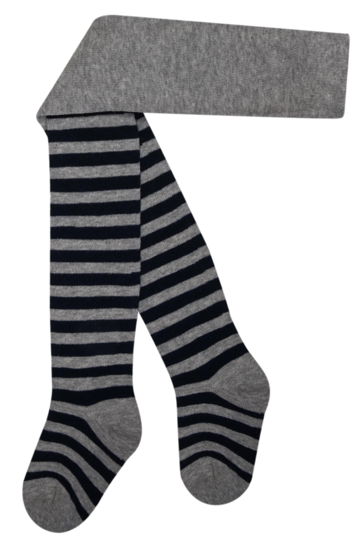 Купить Носки, для мальчика, серые в широкую полоску, Barkito, Китай, серый в полоску