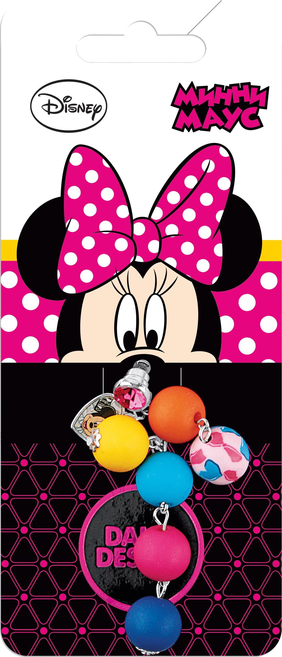 Украшения DAISY DESIGN Подвеска для телефона Daisy Design «Бусинка. Минни Маус» стоимость