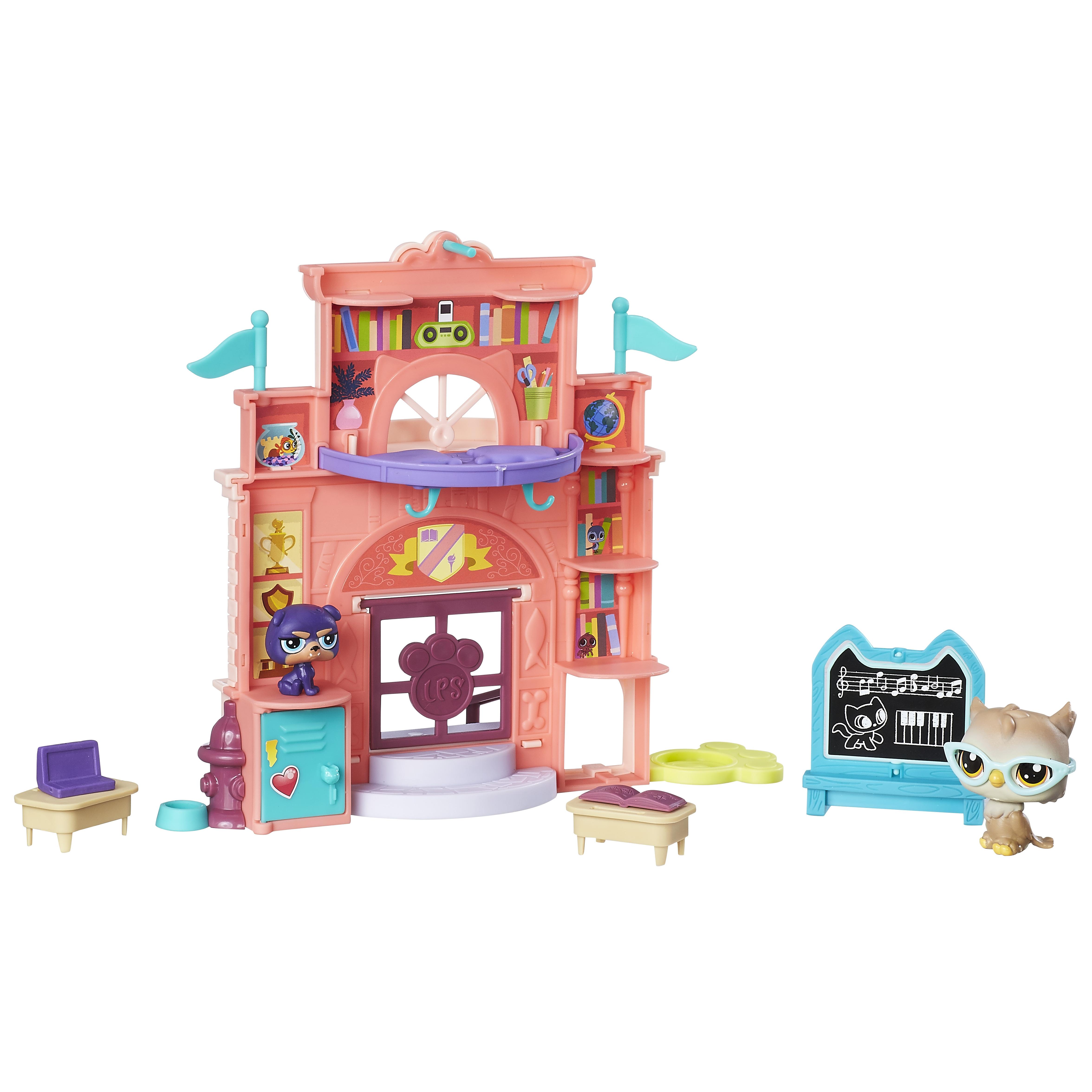 Littlest Pet Shop LITTLEST PET SHOP Школа»/«Аквапарк тюбинг belon тент спираль аквапарк 85см