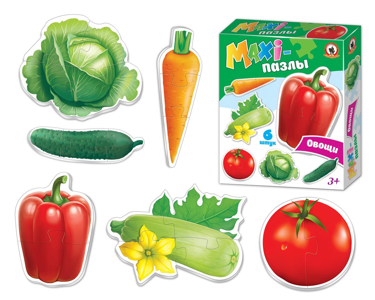 Макси-пазл Русский стиль Овощи