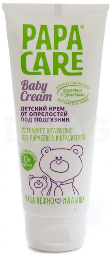 Купить Кремы, Детский от опрелостей под подгузник 100 мл, Papa Care, Россия