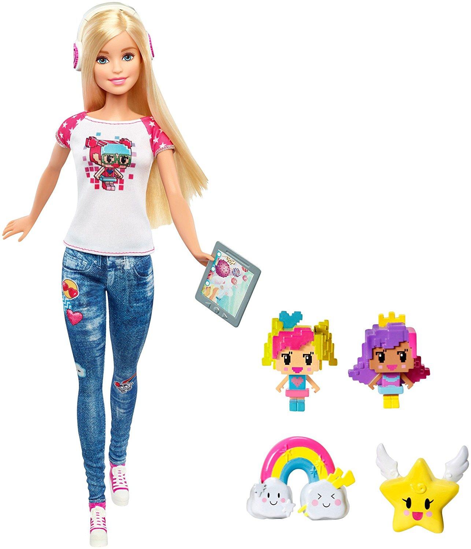 Кукла Mattel Barbie и виртуальный мир кукла с длинными волосами блондинка barbie fxc80