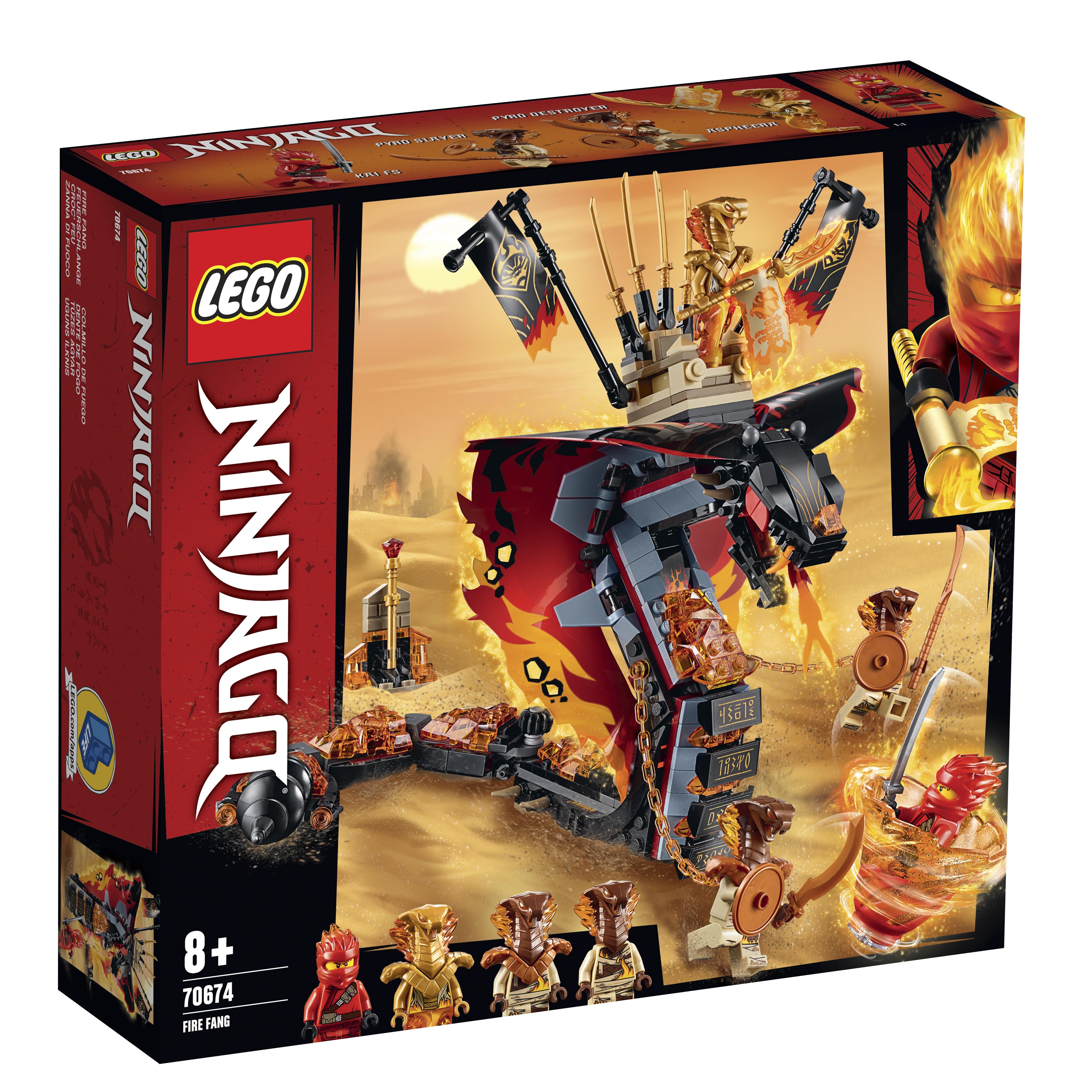 Конструктор LEGO Ninjago «Огненный кинжал»