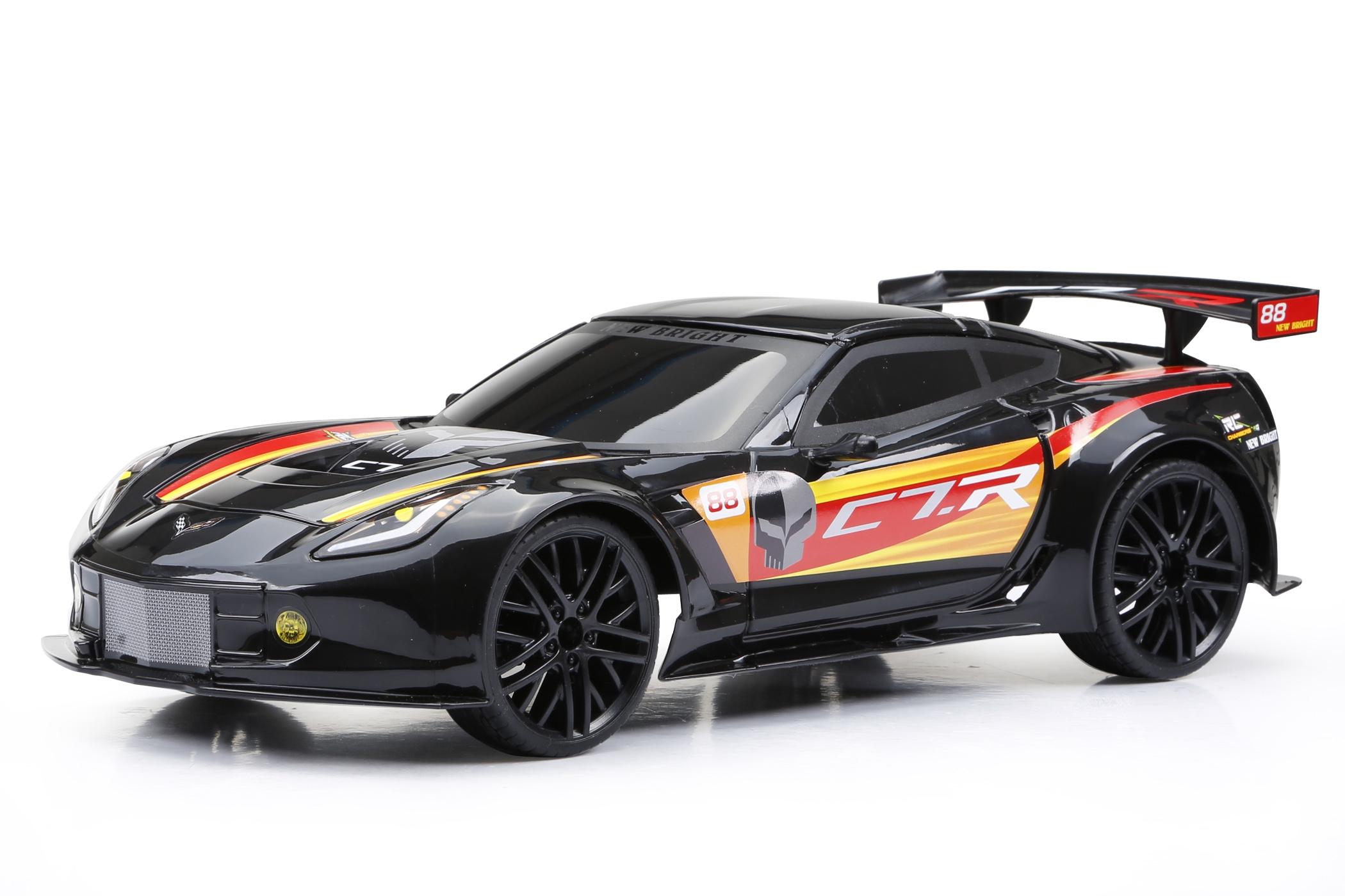 Машинки и мотоциклы NEW BRIGHT Corvette C7R радиоуправляемая new bright машина на р у corvette z06 красная