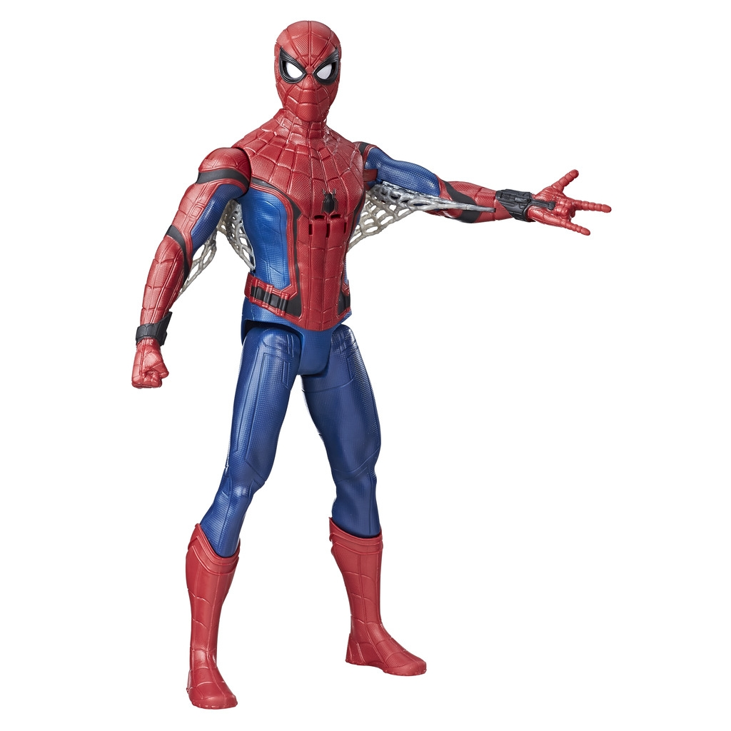 Spider Man Spider-man Фигурка Spider-Man «Титаны» lis 2017 new iron man glove action figure spider man launchers toy kids suitable spider man cosplay costume music and led light