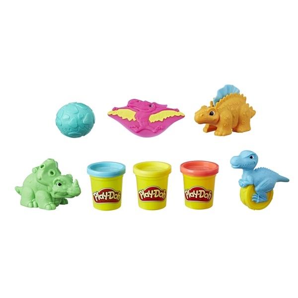 Игровой набор Play-Doh Малыши-Динозаврики play doh play doh малыши динозаврики