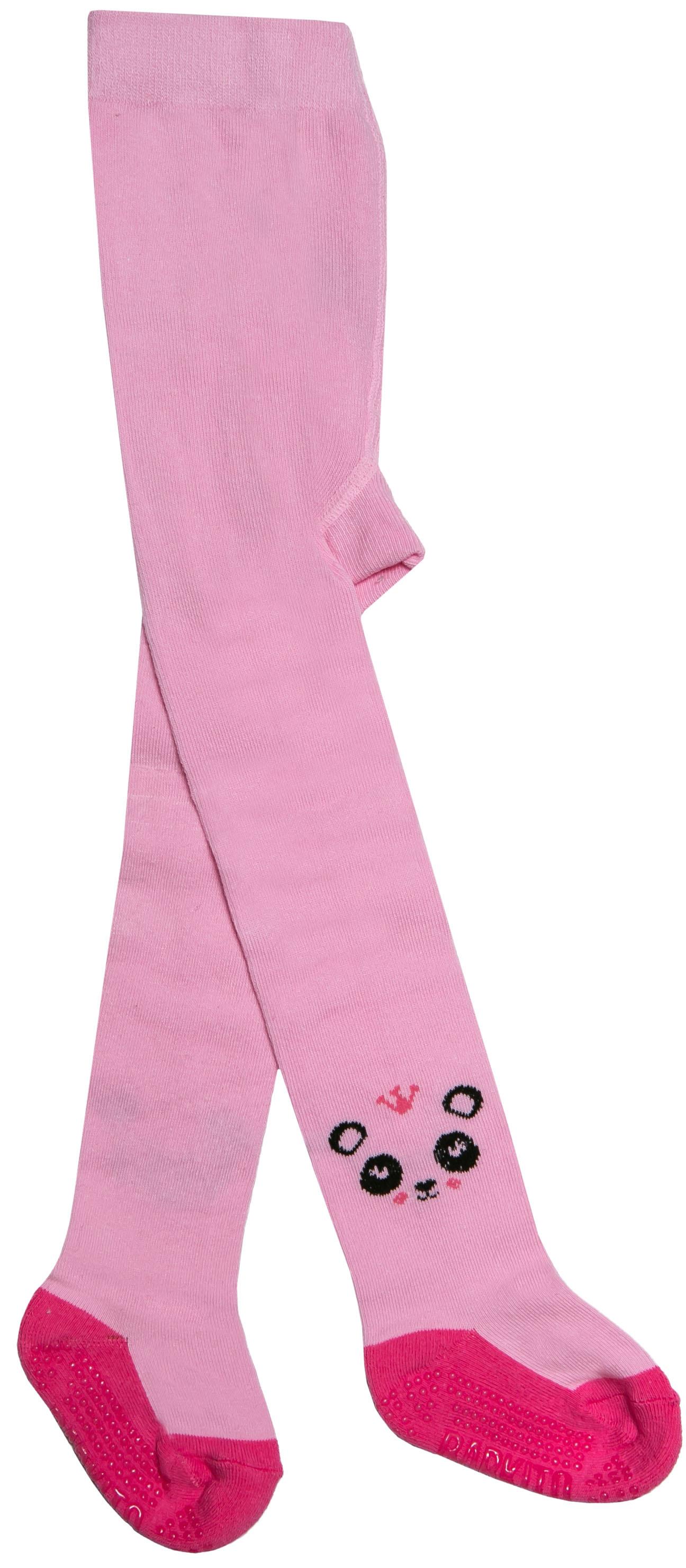 Колготки Barkito Колготки антискользящие для девочки Barkito, розовые колготки кидис колготки х б 8 марта розовые