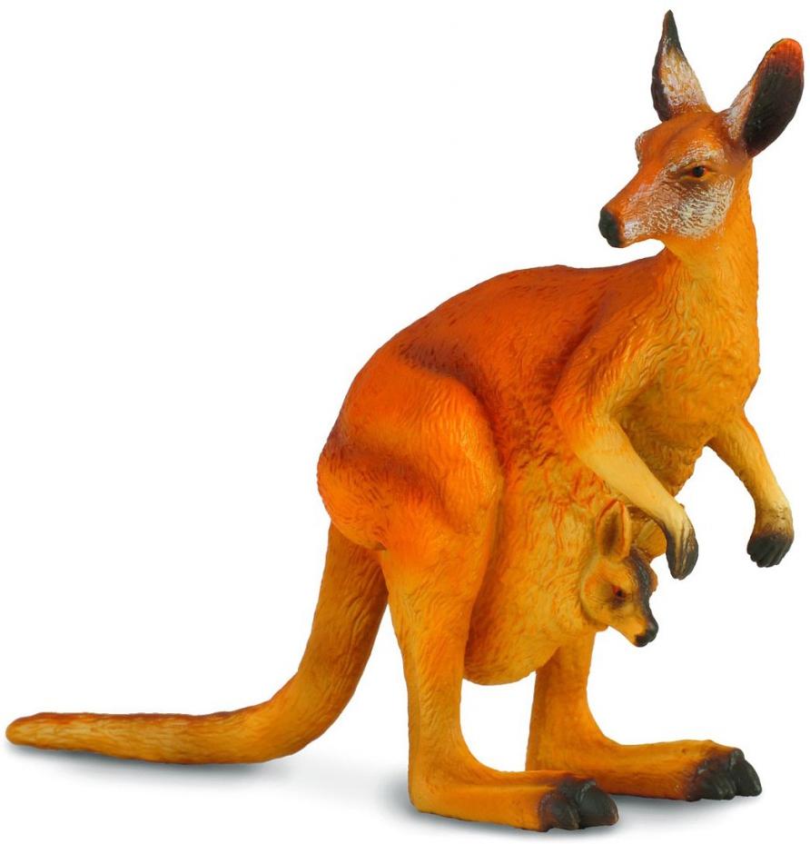 Фигурки Гулливер Красный кенгуру L фигурка игрушка collecta красный кенгуру