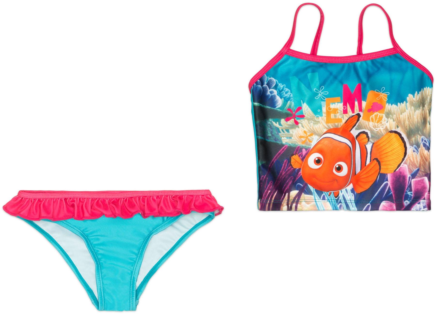 Купальники и плавки Finding Nemo Костюм купальный модель танкини Finding Nemo, бирюзовый танкини brand new 2015 a0389dt5 234