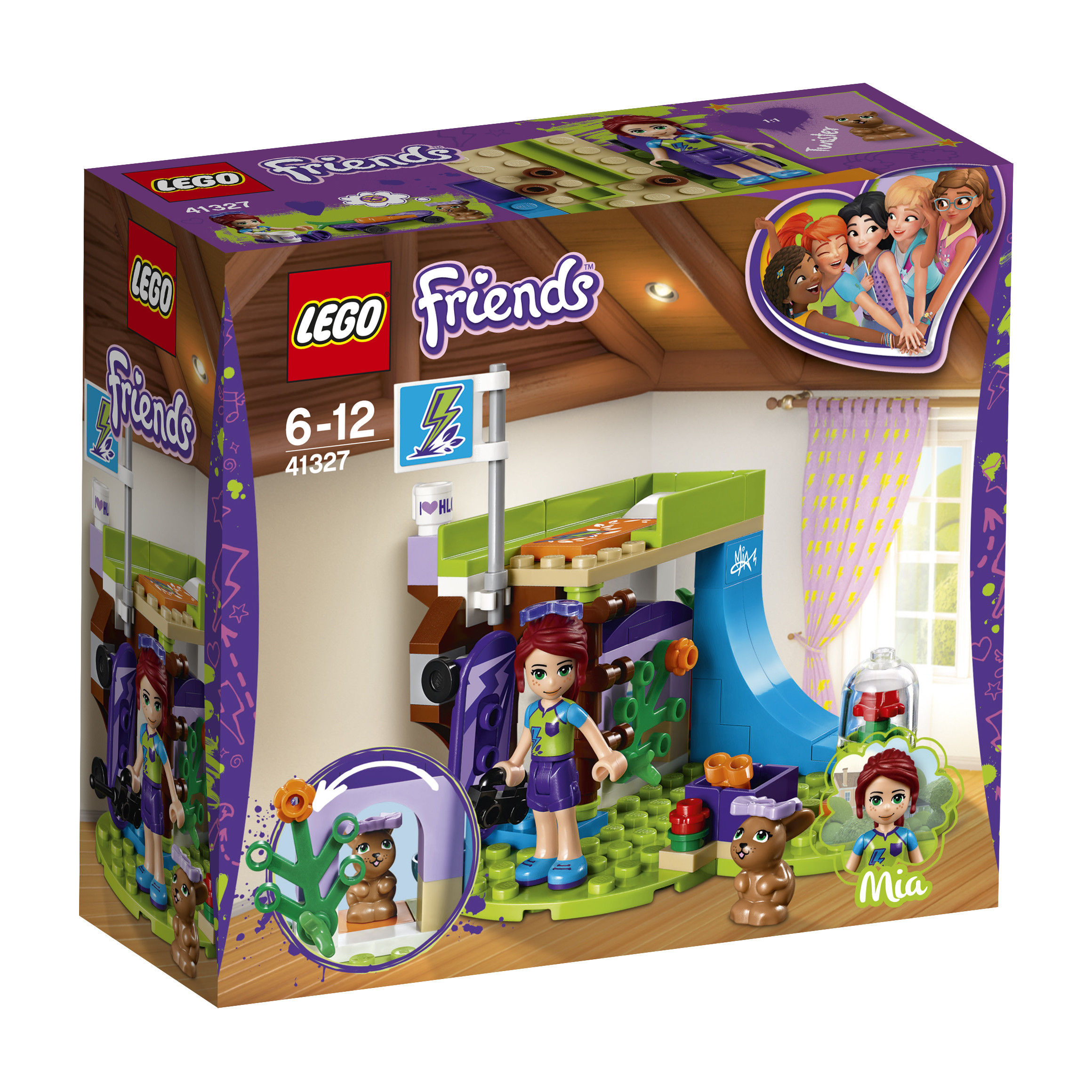 Конструктор LEGO Friends 41327 Комната Мии цена