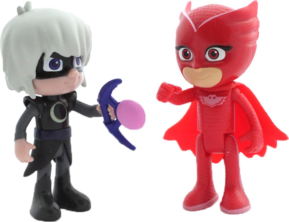Фигурки героев мультфильмов PJ Masks Алетт и Лунная девочка всё для лепки герои в масках pj masks набор алетт и ромео
