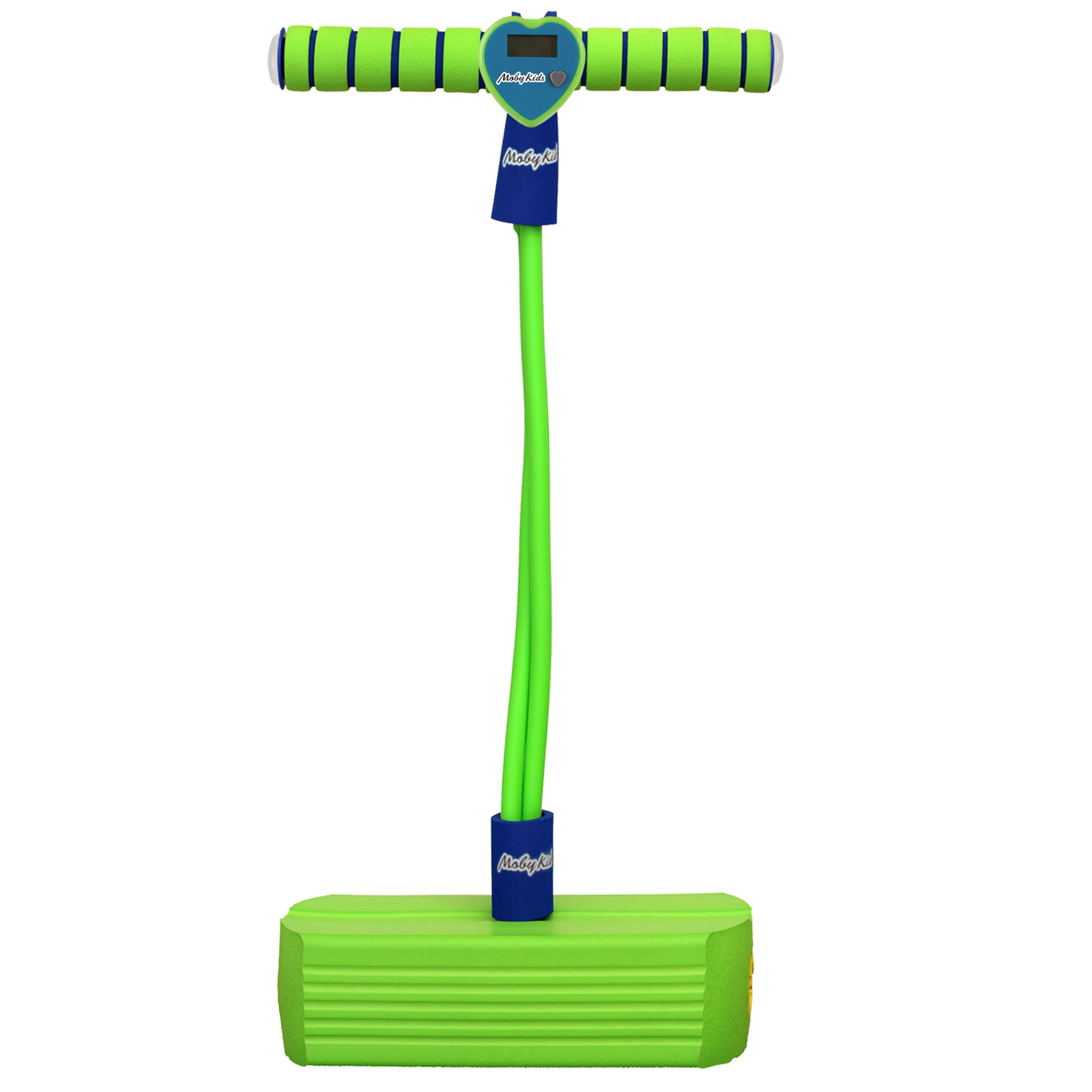 Фото - Активные игры Moby Kids Тренажер для прыжков Moby Kids «Moby Jumper» со счетчиком, светом и звуком зеленый moby kids тренажер для прыжков moby jumper со звуком зелен