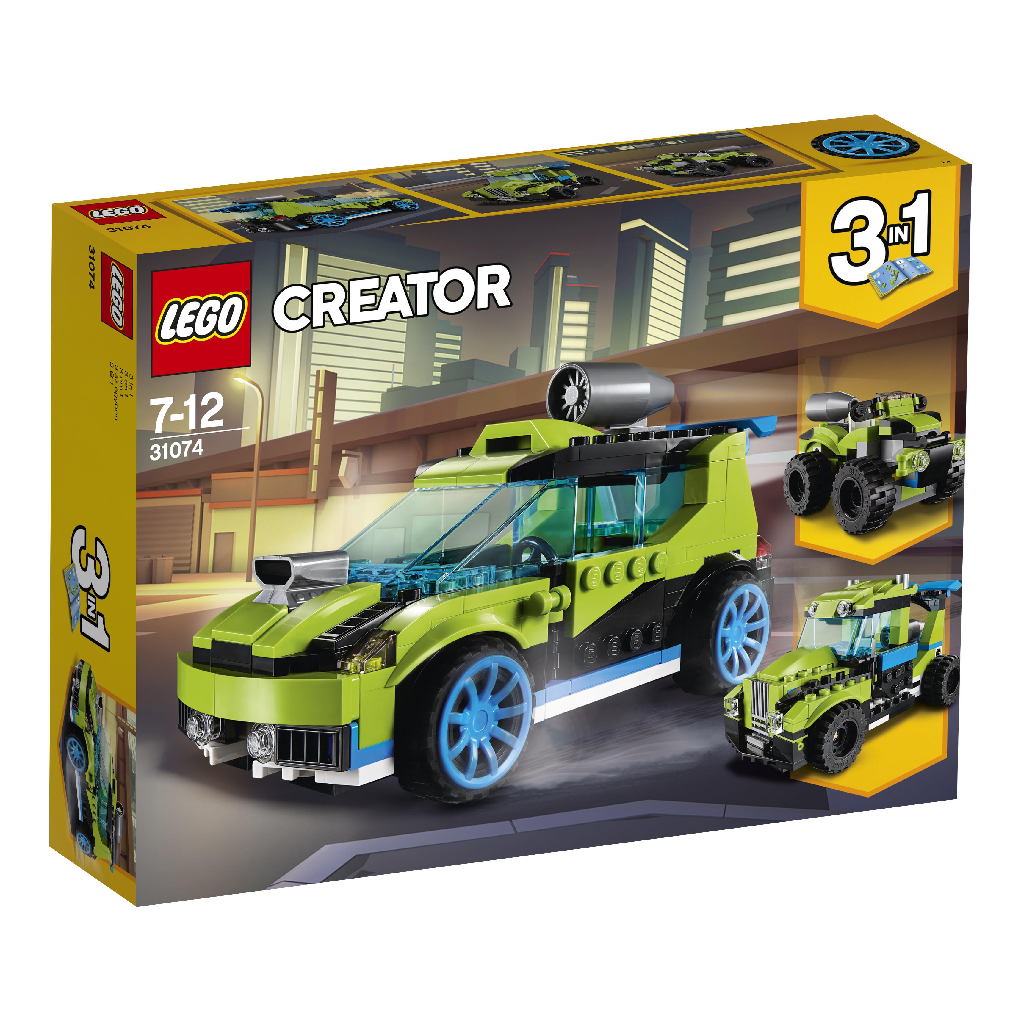 LEGO LEGO Конструктор LEGO Creator 31074 Суперскоростной раллийный автомобиль конструктор lego creator путешествие по воздуху 31047