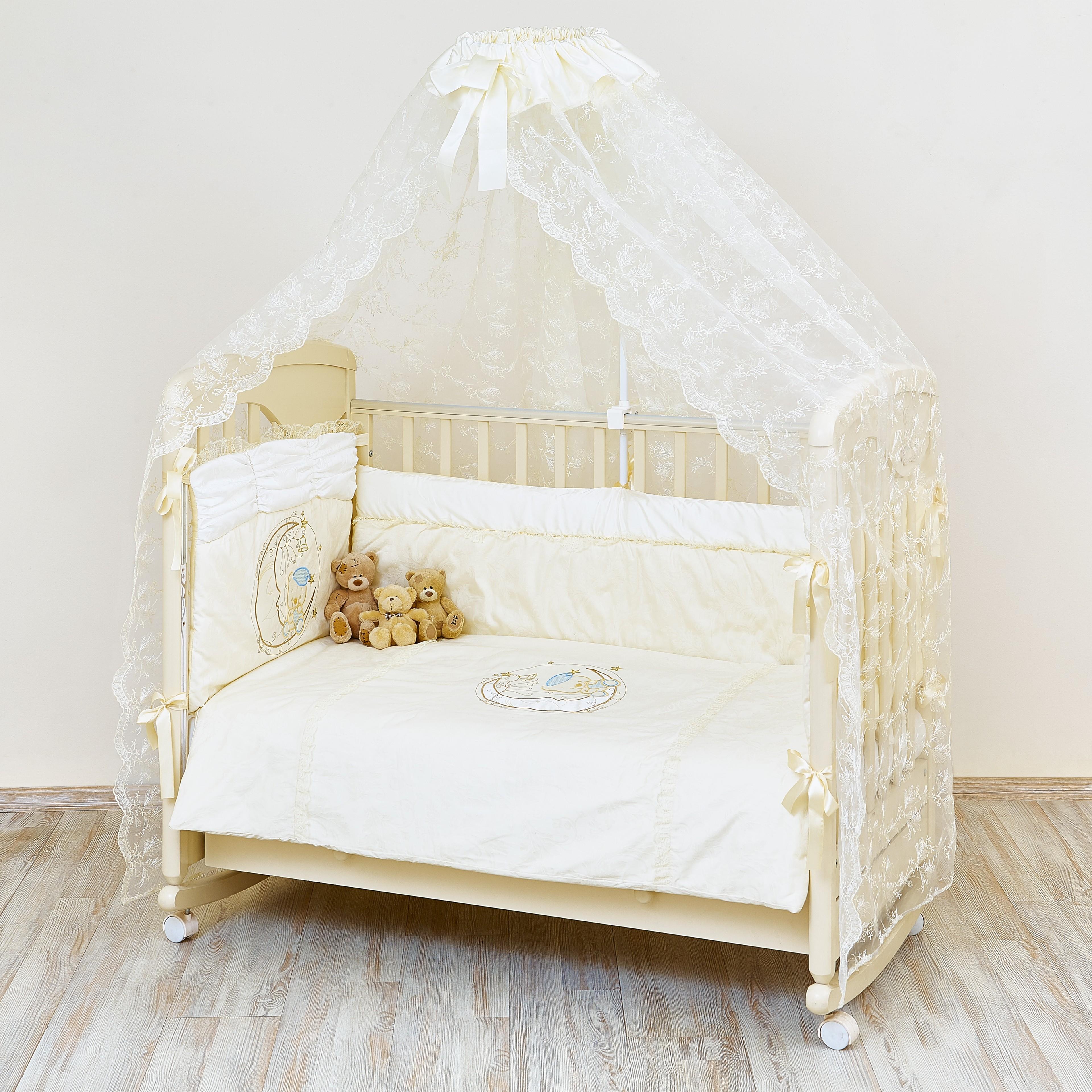Фото - Комплект в кроватку Barkito Moon Bear удочка зимняя swd ice bear 60 см