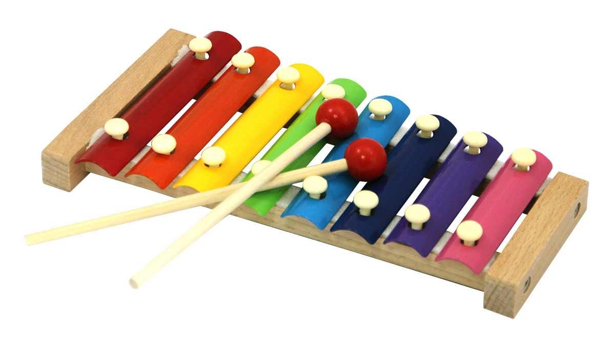 Деревянные игрушки База игрушек Ксилофон деревянный База игрушек doremi ксилофон для малышей