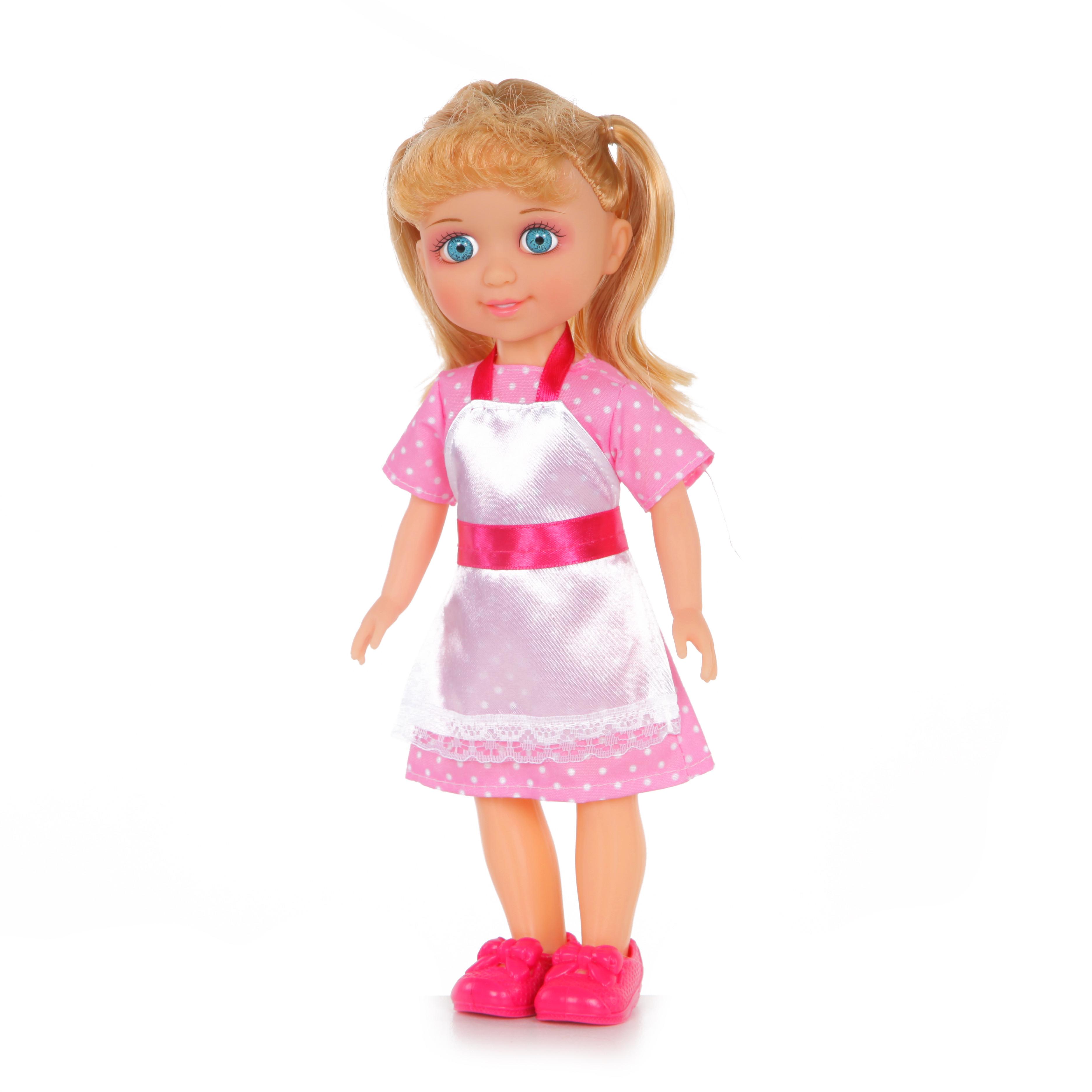 Другие куклы YAKO Кукла Yako Jammy «Хозяюшка» 25 см кукла yako m6289