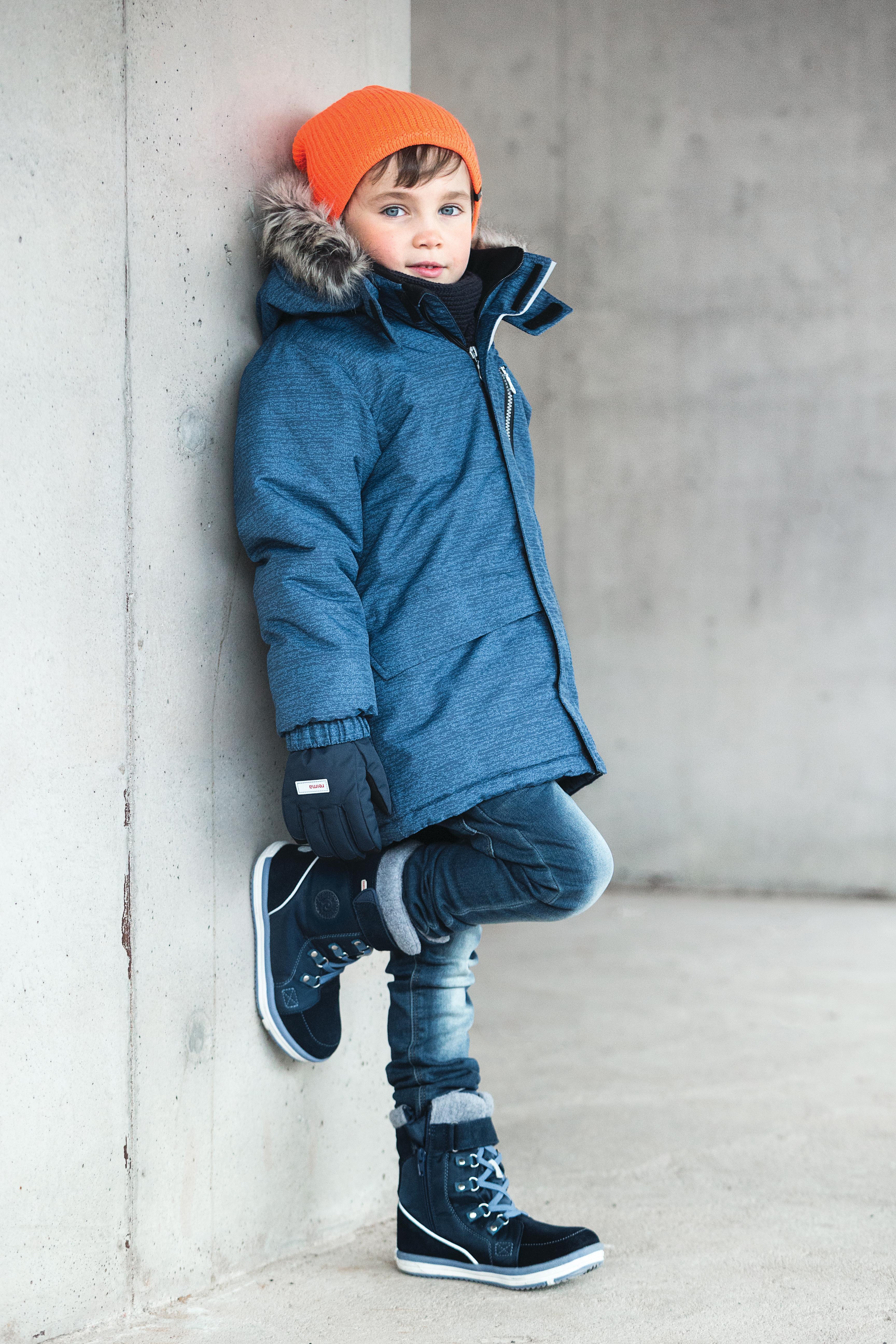 Зимняя куртка Lassie для мальчика синий