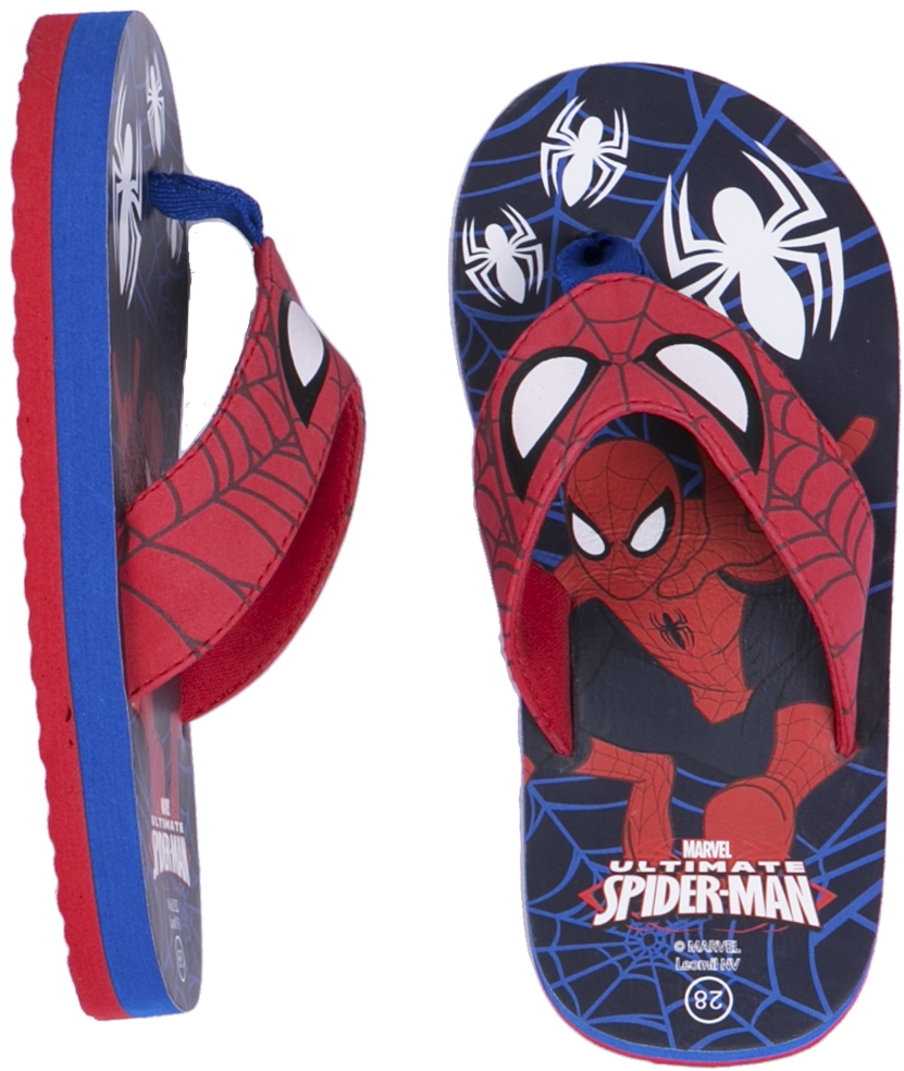 Купить Spider Man, Сланцы Ultimate spiderman, Китай, redblue
