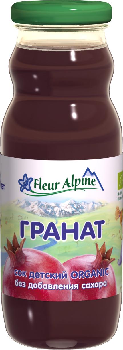 Сок Fleur Alpine Fleur Alpine Organic Гранат с 3 лет 200 мл цена