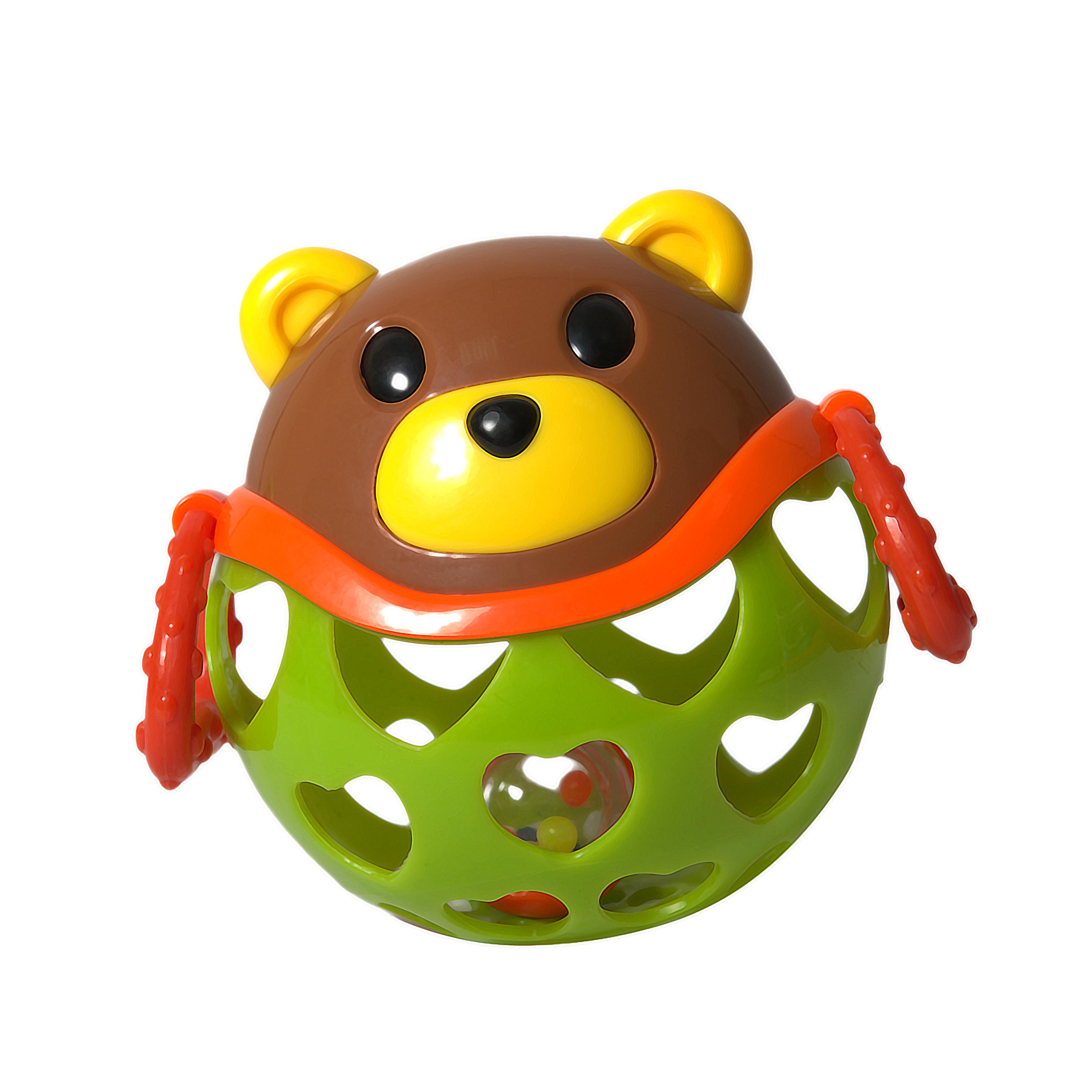 Погремушки Baby Trend Медведь baby trend погремушка неразбивайка baby trend собака