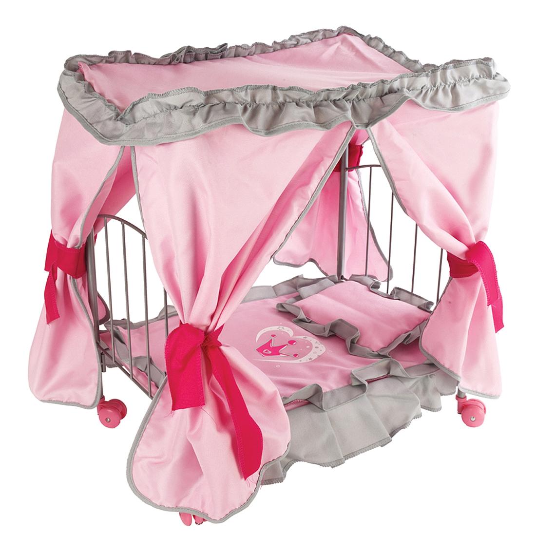 Кровать для куклы Наша игрушка Корона