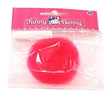 Украшения Funny Bunny Резинка на пучок Funny Bunny, в ассортименте невидимка для волос funny bunny розовые цветы 2 шт