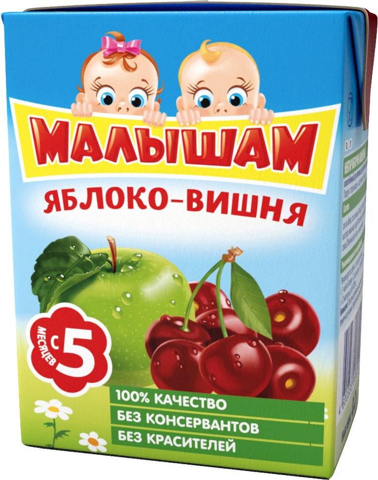 Нектар Прогресс ФрутоНяня Малышам Яблоко и вишня с 5 мес. 200 мл