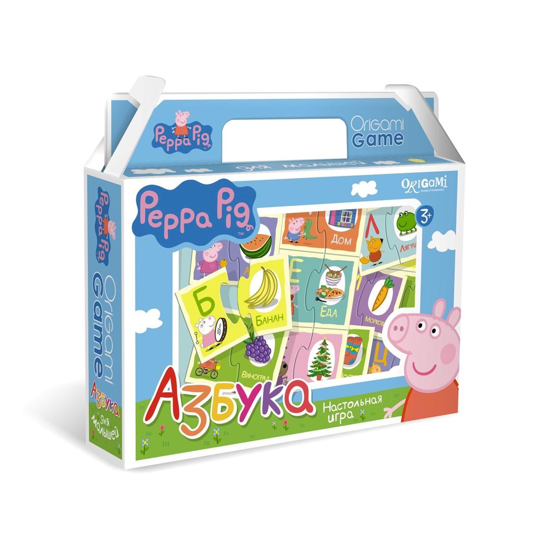 Peppa Pig Peppa Pig Азбука настольная игра origami peppa pig считалочка в чемоданчике