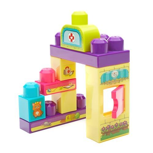 Конструкторы для малышей Mega Bloks Маленькие игровые наборы игровые наборы classic world игровой набор конструктор полицейский участок