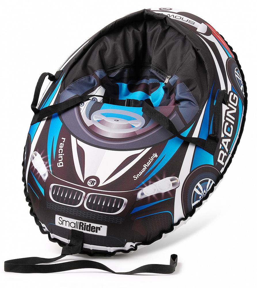 Купить Тюбинг-санки, Snow Cars 3 МВ черный с синим, 1шт., Small Rider 1425150, Россия