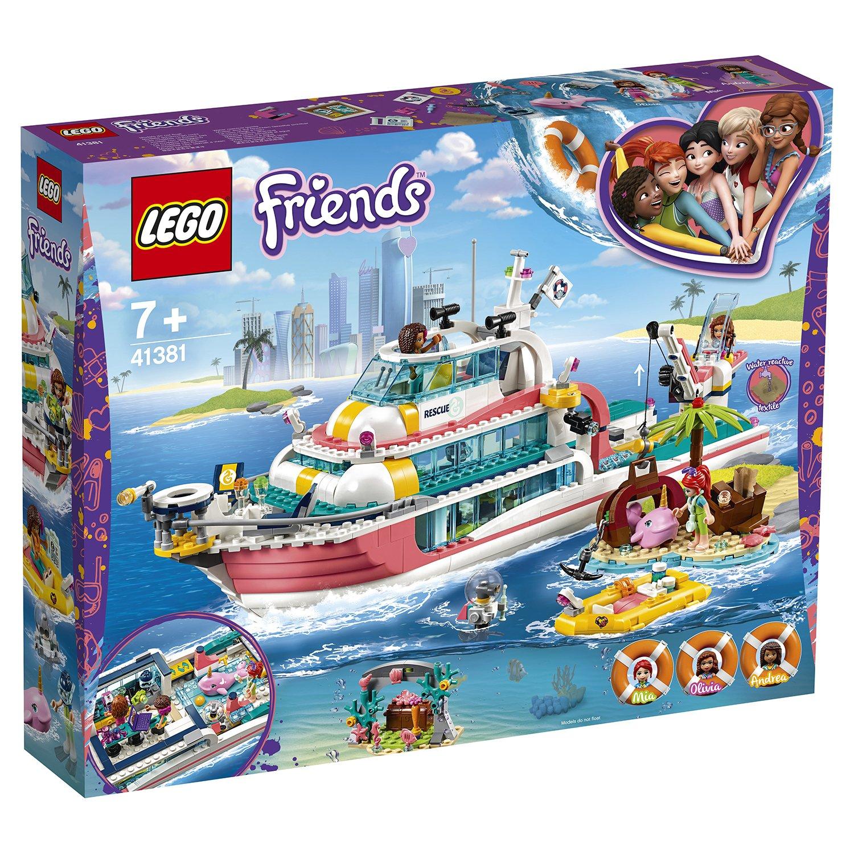 Фото - Конструктор LEGO Friends 41381 Катер для спасательных операций lego friends скоростной катер андреа 41316